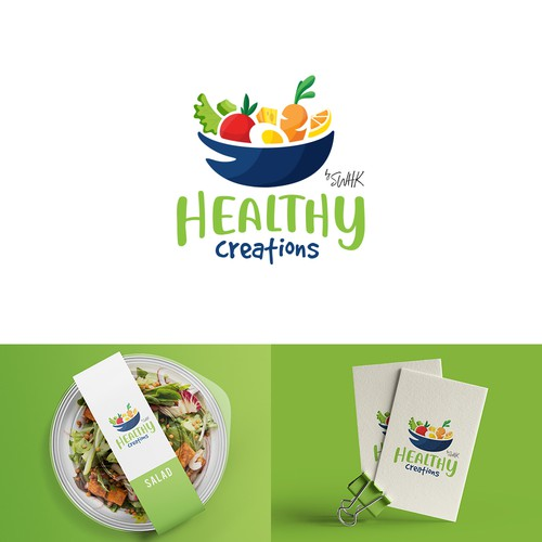 Fresh and colorfull logo design
