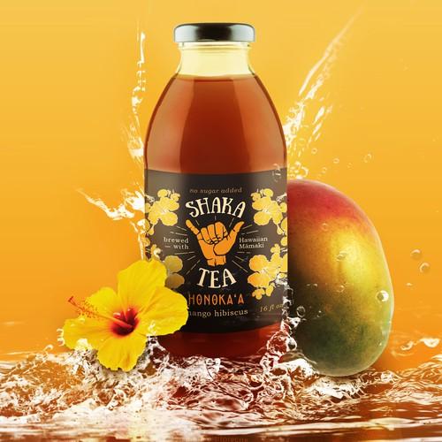 Vibrant Product Promotion for Shaka Tea