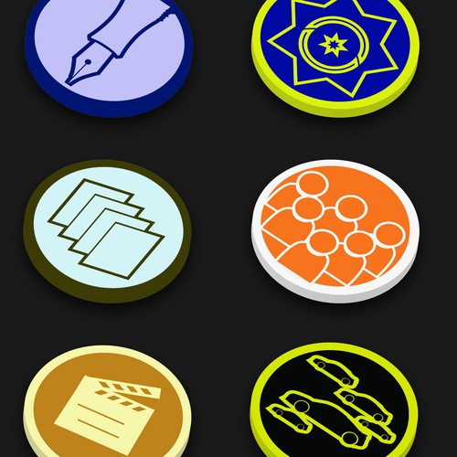 Design 10 Badges\Trophies to be used on MotorShout.com