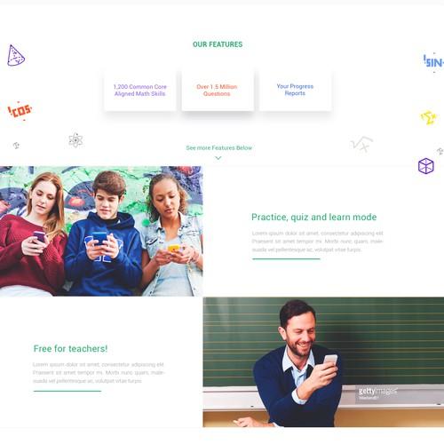 Learn Math Website