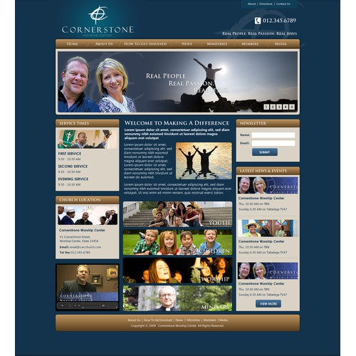 CWC Website Design