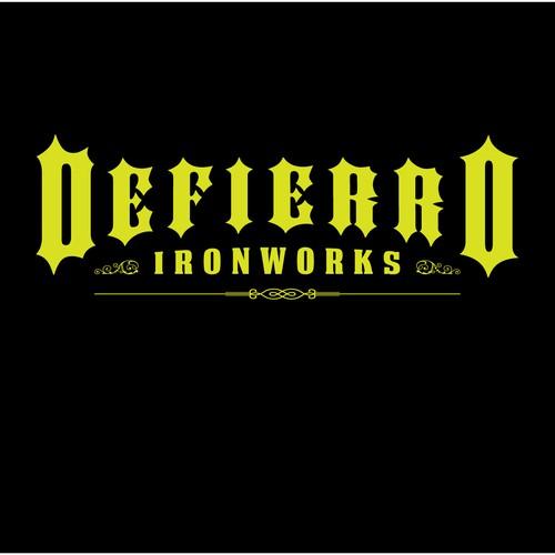 Defierro Ironworks logo