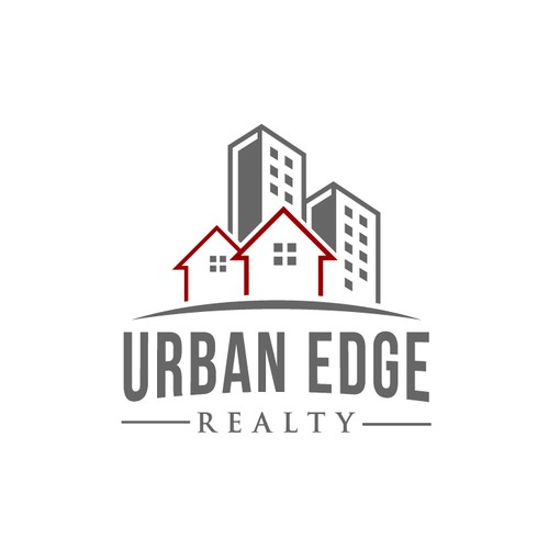 Create an engaging real estate illustration for Urban Edge Realty