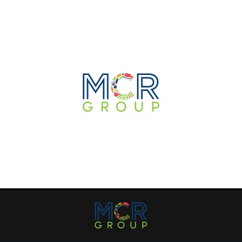 Logo concept for MCR Group