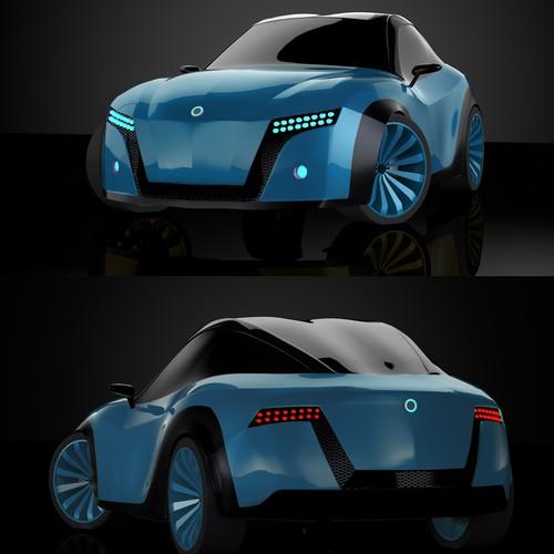 Electric car concept