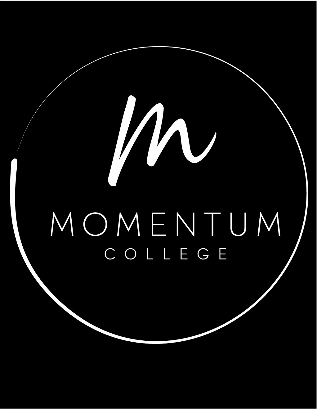 Design a modern, kreative and simple logo for a College