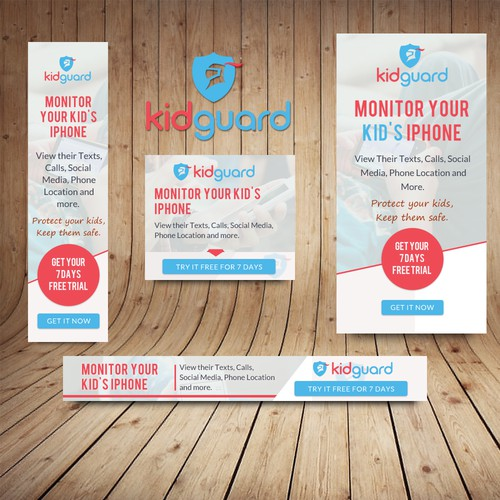 Banner Ads for KidGuard