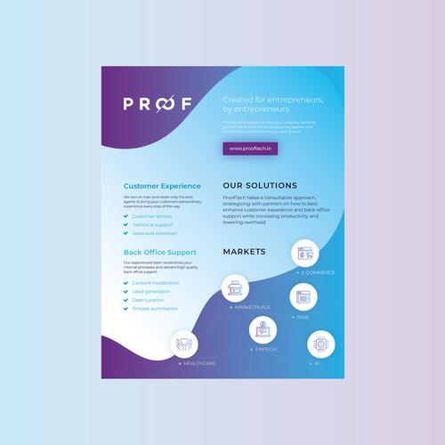Technology Flyer Design