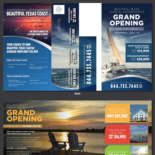 Texas Coastal Waterfronts Brochure