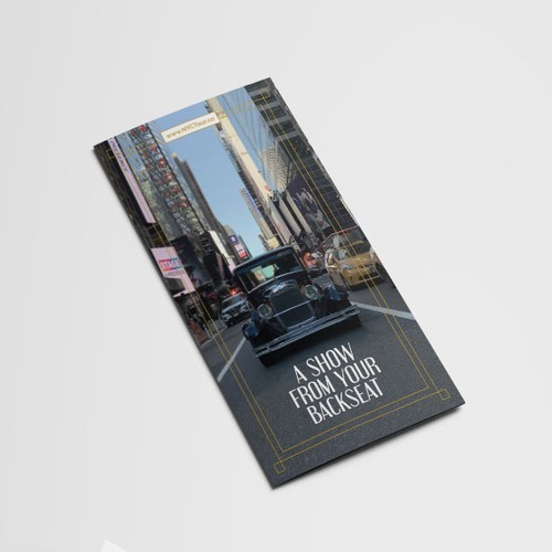1920s Themed Tour Brochure