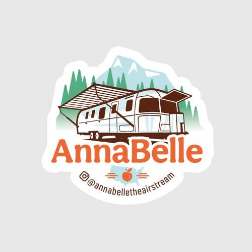 Airstream Camper logo / sticker