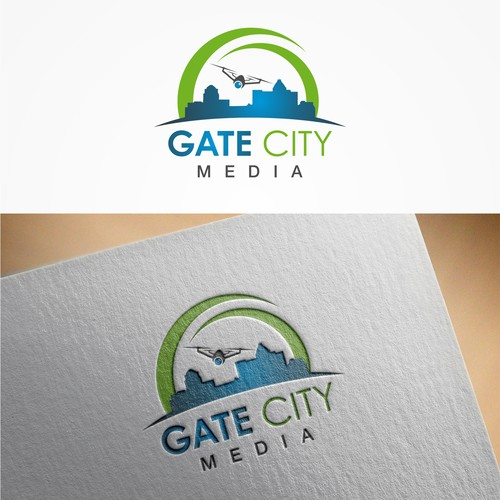 """logo for """"Gate City Media"""""""