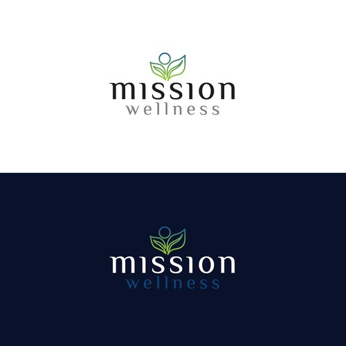 Logo for health and wellness clinic