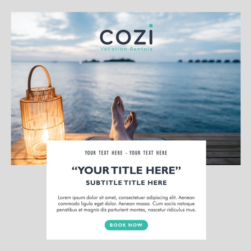 Cozi Vacation Email Template
