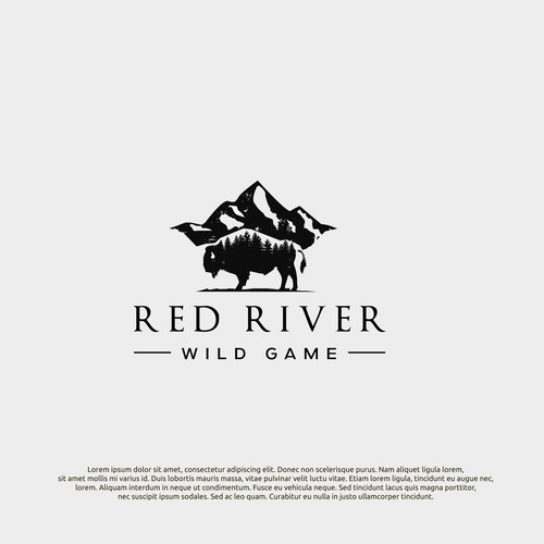 logo concept for red river
