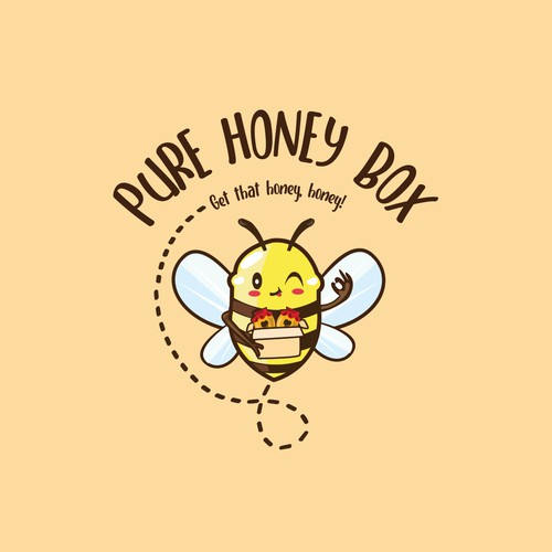 logo design for honey subscription box
