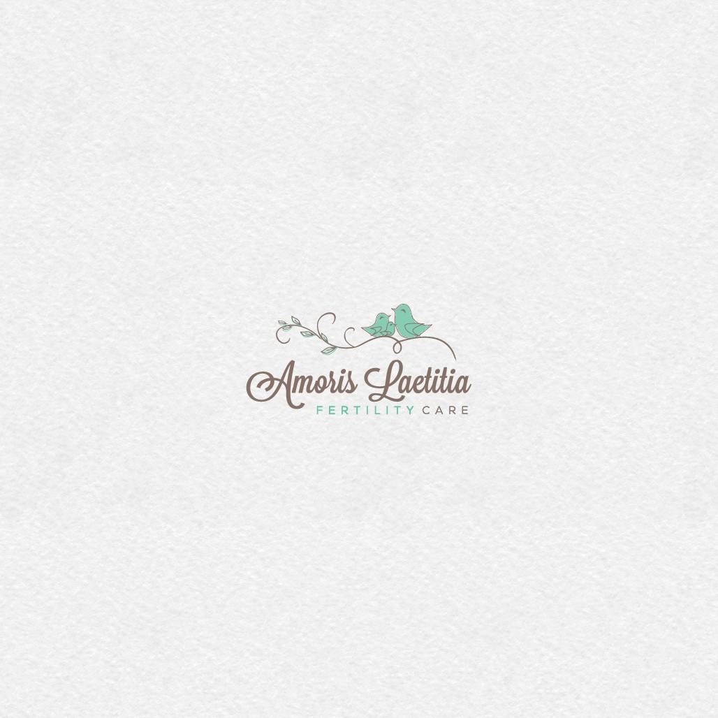 Create a soft, pretty, flowy logo for a fertility business