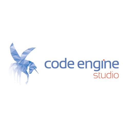 Create Digital Engine's logo & help keep their identity top of mind with large Advertising Agencies.