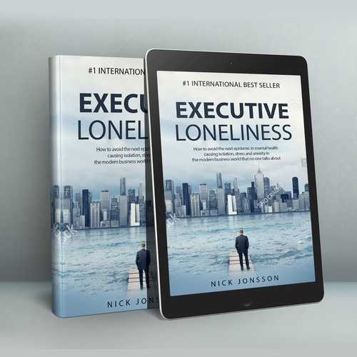 "Book Cover ""Executive Loneliness"