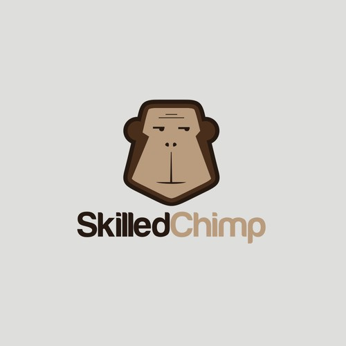 "Create a logo for ""Skilled Chimp"""