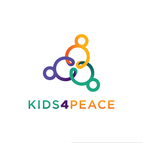 Playful logo for a nonprofit organization
