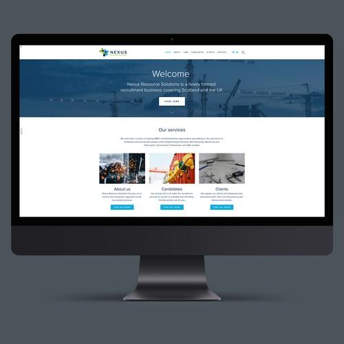 Website for Recruitment Agency Nexus Resource Solutions