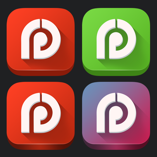 Design a new iOS 7 app badge for the best Test Prep apps around
