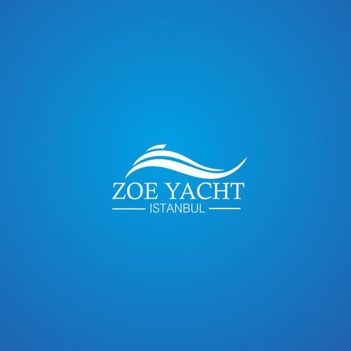 logo concept for yacht