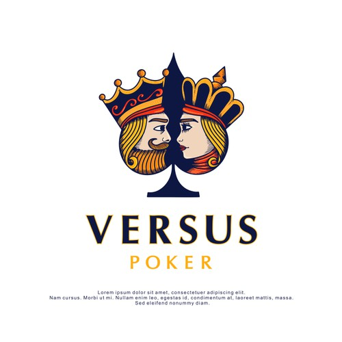 Logo Design for Versus Poker