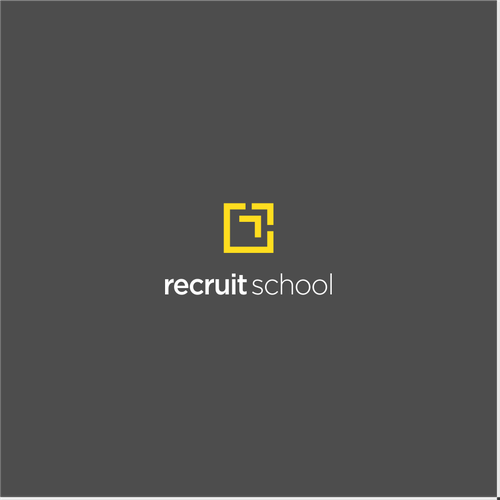 Logo design for RecruitSchool