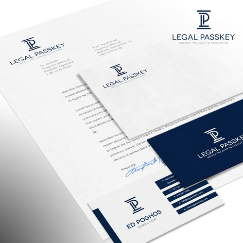 Logo for lawyer referral service in the US