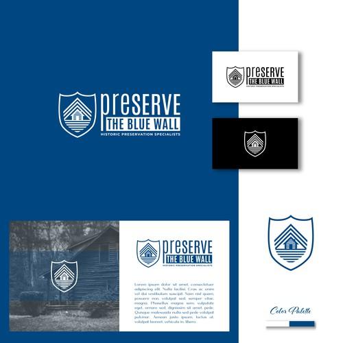 PreServe The Blue Wall Logo