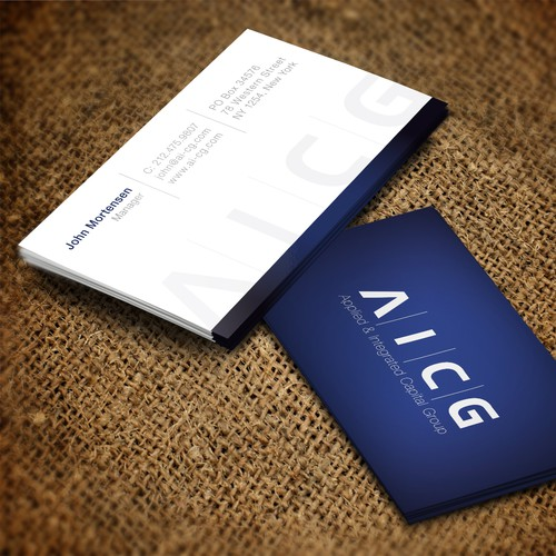 Create the next stationery for Applied and Integrated Capital Group