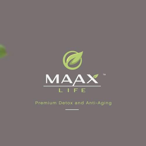 Elegant logo for skincare product