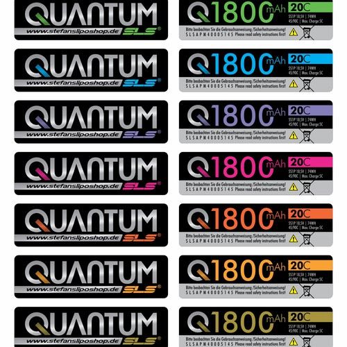 Battery Label Series