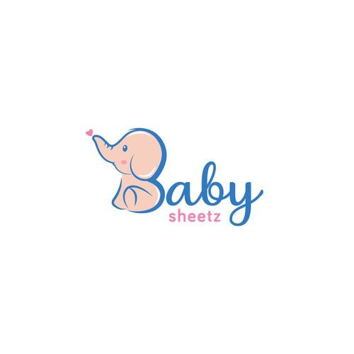 Cute Logo concept for Baby Sheetz