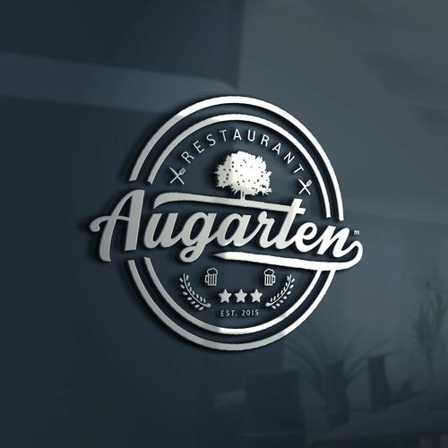Augarten restaurant logo.