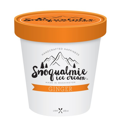Ice Cream Label Packaging