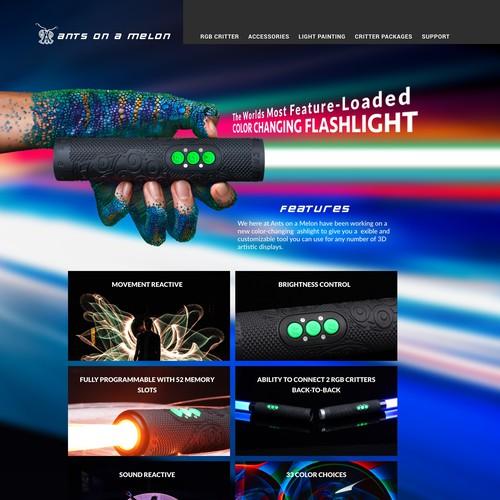 Flashlight web site