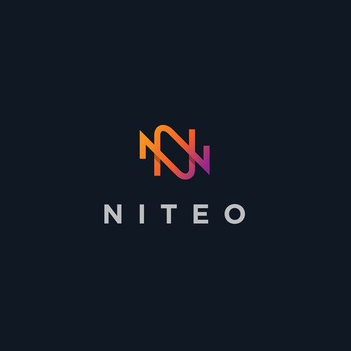 Minimal logo design for Niteo.