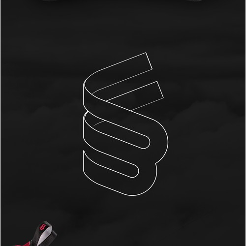Logo concept for a  climbing shoes brand