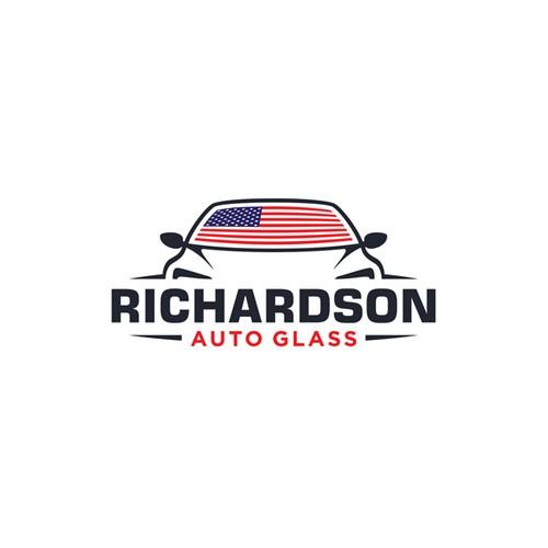 Logo concept for Richardson Autoglass
