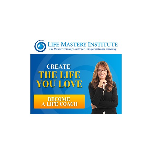 Create a set of remarketing banner for Life Coach Training Program
