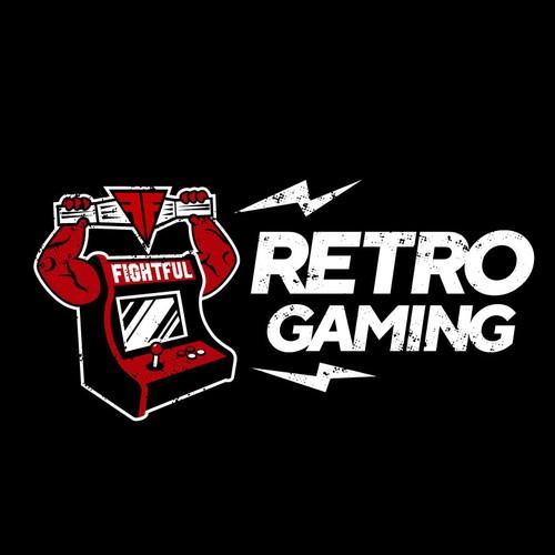 "Fightful Magazine ""Retro Gaming"" Logo!"