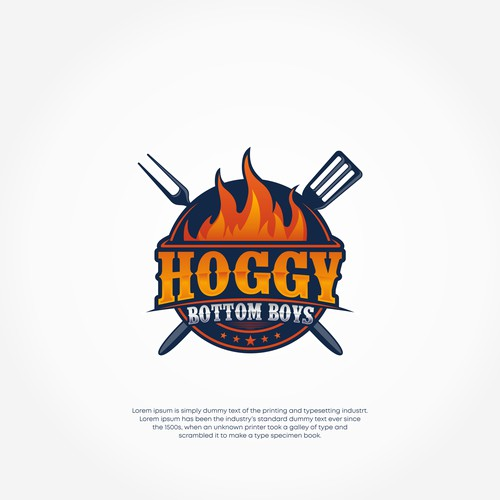 Competition BBQ Team Logo