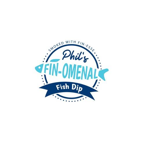 Phil's Fish Dip Logo