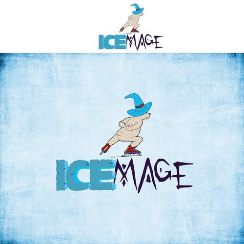Ice Skate Logo
