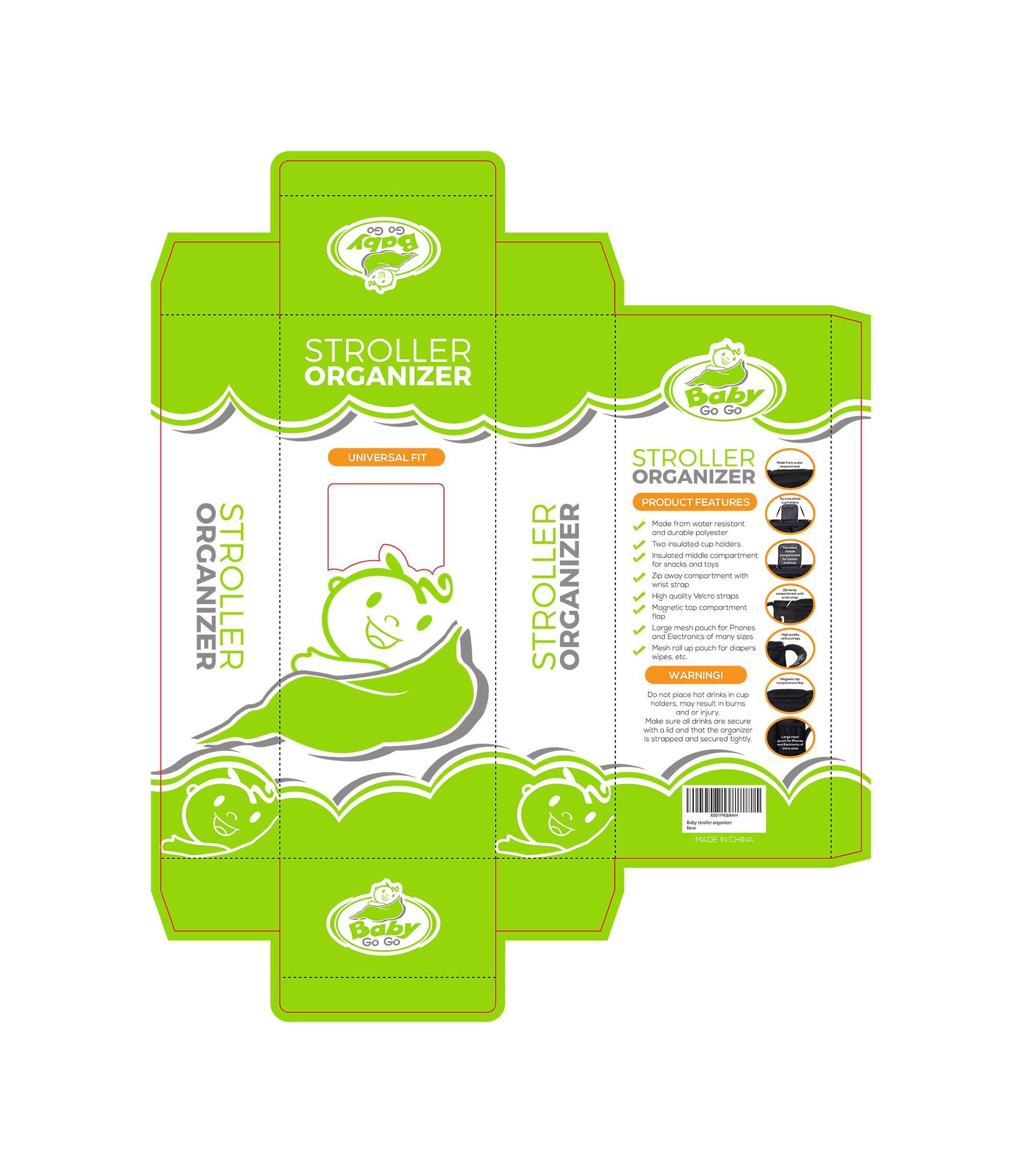 Baby stroller Organizer Packaging designs