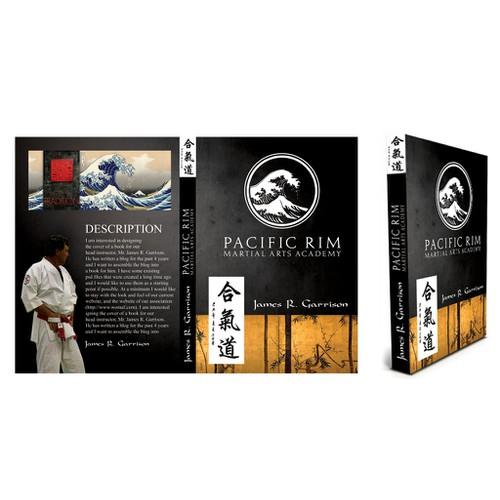 Create a book cover for a martial arts legend!