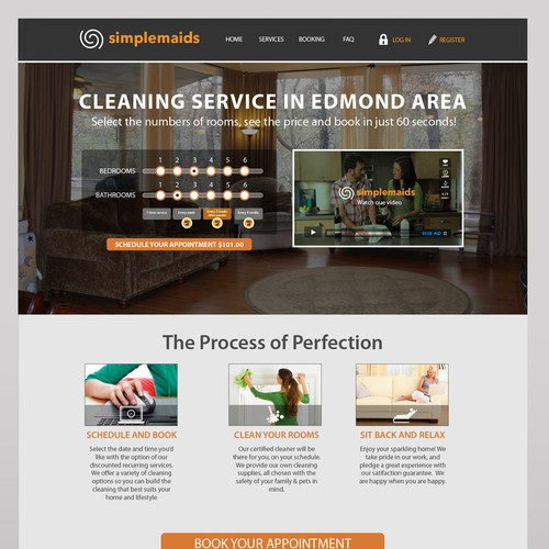 Maid Services Company website